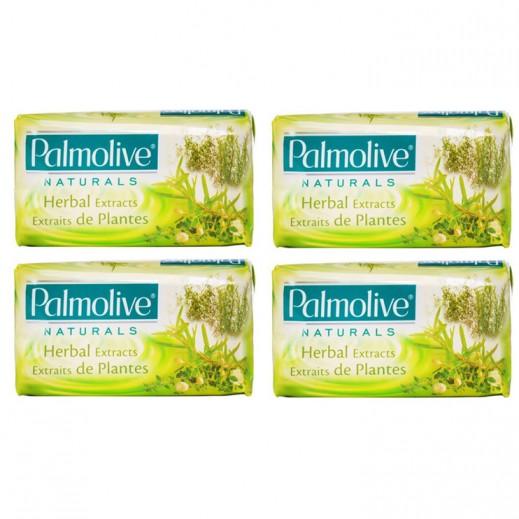 بالموليڤ – صابون بخلاصة الأعشاب الطبيعية 170 جم (4 حبة