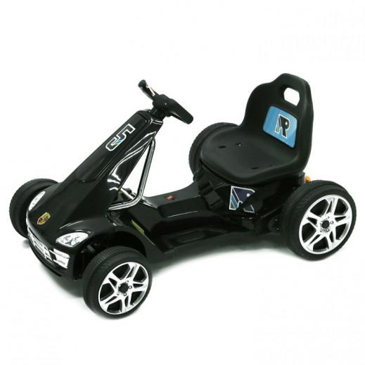 سيارة سباقات للصغار، قابلة لإعادة الشحن - أسود - يتم التوصيل بواسطة Click Toys