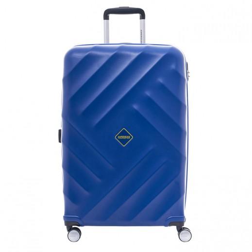"""أميريكان تورستر – حقيبة سفر """" Mykonos """" مقاس 68 – أزرق"""