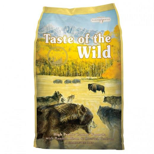 تيست أوف ذا وايلد – طعام الكلام الجاف بلحم البيسون الأمريكي ولحم الغزال المشوي 13 كجم