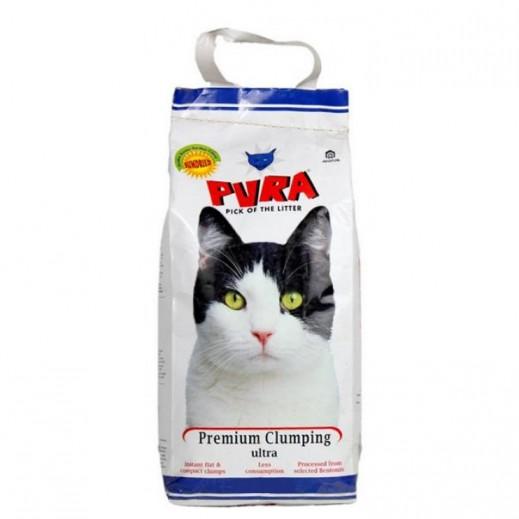 بيورا - تراب فضلات للقطط مون ألترا 10 كجم