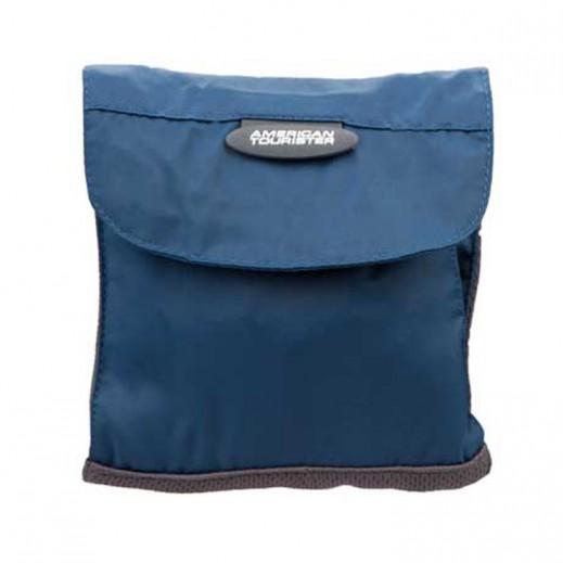 أميركان توريستر – حقيبة رقبة لحفظ المتعلقات الصغيرة (أزرق)