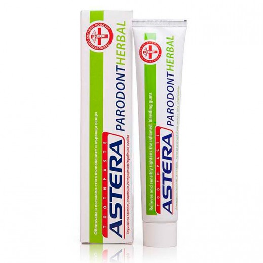 أستيرا – معجون الأسنان بارودونت الأعشاب 75 مل