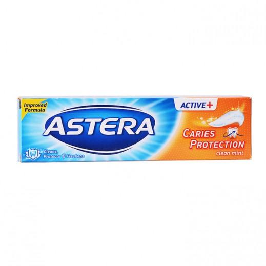 أستيرا – معجون الأسنان أكتيف+ للحماية من التسوس 100 مل