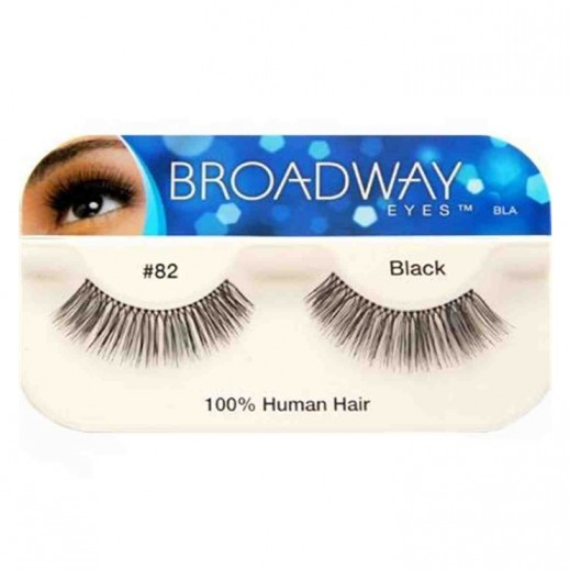 برودواي – رموش للعين من الشعر الطبيعي 82 أسود