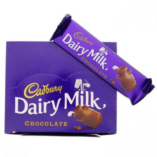 كادبوري - شوكولاتة بالحليب - كرتون 12 حبة × 37 جم