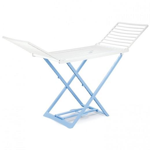 بروجاردن - منشر بلاستيك لتجفيف الملابس – أزرق / بيج (أيطالي)