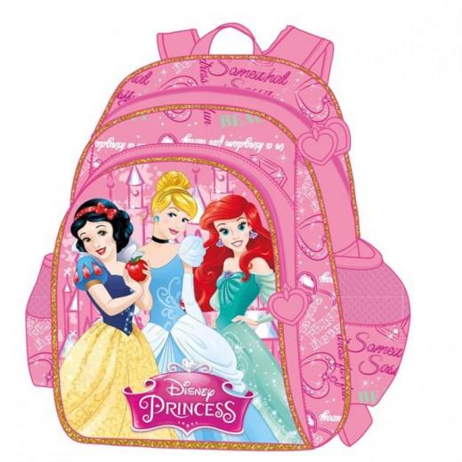 32363514398cd اشتري أميرات ديزني – حقيبة ظهر مدرسية 16 بوصة - زهري