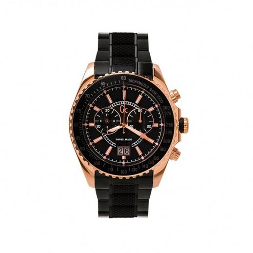 """جي سي - """"سبورت كلاس كرونوجراف"""" ساعة يد للرجال - يتم التوصيل بواسطة Beidoun"""