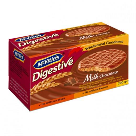 ماكفيتيز – بسكويت بالشوكولاتة والحليب 200 جم