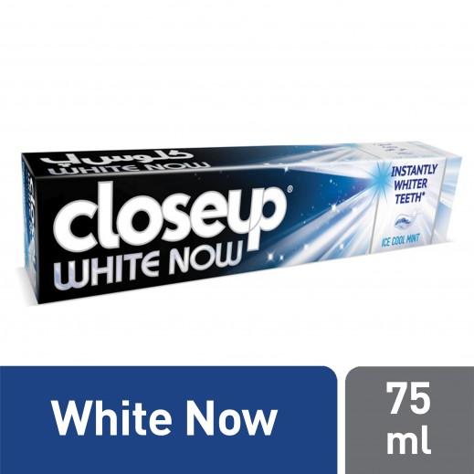 كلوس أپ - معجون أسنان وايت ناو 75 مل
