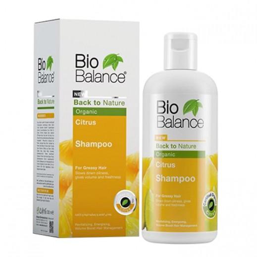 بايو بالانس – شامبو الحمضيات العضوي للشعر الدهني 330 مل
