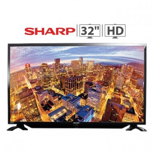 "شارب – تليفزيون Aquos شاشة 32"" HD LED - يتم التوصيل بواسطة EASA HUSSAIN AL YOUSIFI & SONS COMPANY"