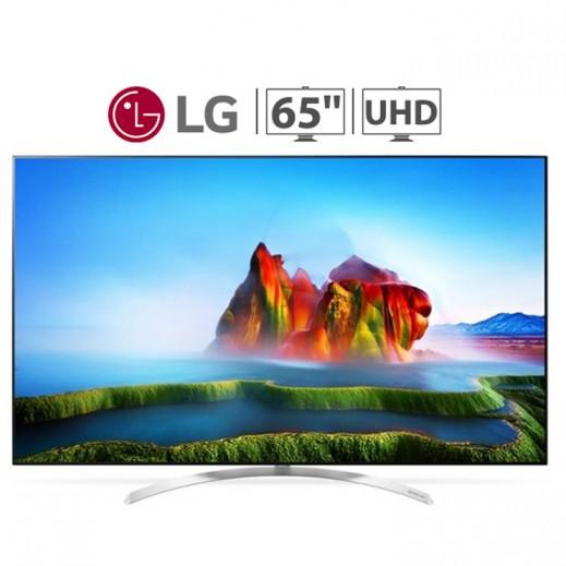 "ال جي – تليفزيون ذكي 65"" SUPER 4K UHD - يتم التوصيل بواسطة ABDULAZIZ SAOUD ALBABTAIN AND SONS COMPANY FOR ELETRICAL AND ELECTRONICS"