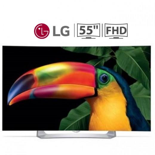 "إل جي – تليفزيون ذكي 55"" مقوس FHD OLED  - يتم التوصيل بواسطة ABDULAZIZ SAOUD ALBABTAIN AND SONS COMPANY FOR ELETRICAL AND ELECTRONICS"