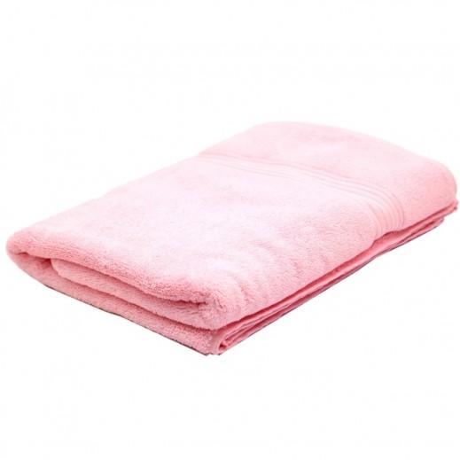 كانون رويال مناشف استحمام وردي 1 قطعة مقاس 70×140 سم