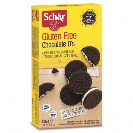 شار – بسكويت الشوكولاتة وكريمة الحليب خالي من الجلوتين 165 جم