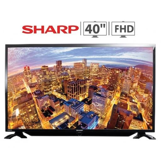 """شارب - تليفزيون Aquos شاشة 40"""" Full HD LED - يتم التوصيل بواسطة EASA HUSSAIN AL YOUSIFI & SONS COMPANY خلال ثلاثة أيام عمل"""