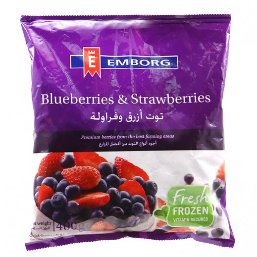 إيمبورج - فراولة وتوت أزرق مجمد 400 جم