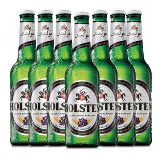 هولستن – مشروب الشعير بنكهة العنب الأسود 6 × 330 مل
