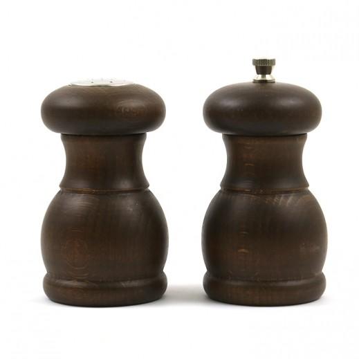 بيزيتي – طقم مطحنة فلفل خشبية - 2 حبة