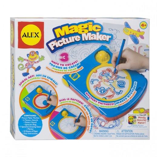 أليكس – لعبة صانع الصور السحري