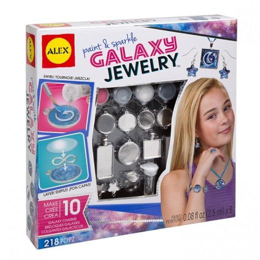 أليكس – لعبة حقيبة إكسسوارات مجوهرات جالاكسي بالألوان