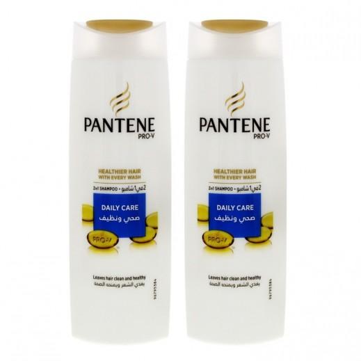 بانتين - شامبو برو في صحي ونظيف 2 في 1، 2 × 400 مل