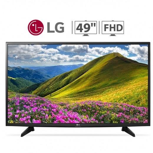 إل جي – تلفزيون 49 بوصة FHD LED مع ريسيفر وألعاب مدمجة – أسود - يتم التوصيل بواسطة ABDULAZIZ SAOUD ALBABTAIN AND SONS COMPANY FOR ELETRICAL AND ELECTRONICS