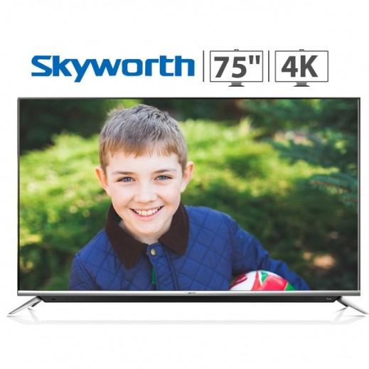 "سكاي وورث – تليفزيون ذكي 75"" 4K UHD LED - يتم التوصيل بواسطة EASA HUSSAIN AL YOUSIFI & SONS COMPANY"