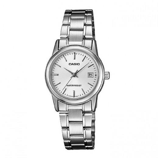كاسيو- ساعة يد كاجوال للسيدات عقارب     - يتم التوصيل بواسطة Veerup General Trading