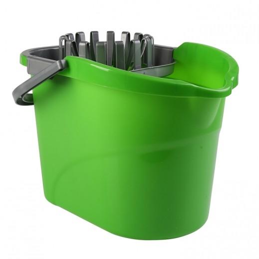 سكوتش برايت - وعاء تنظيف مع معصرة 15 لتر