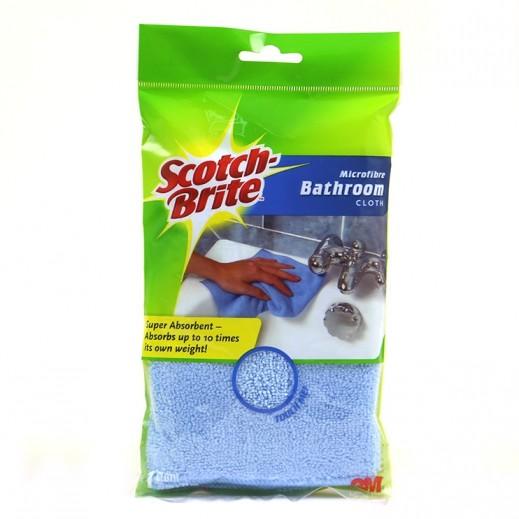 سكوتش برايت - قطعة قماش للحمام مصنوعة من الألياف الدقيقة