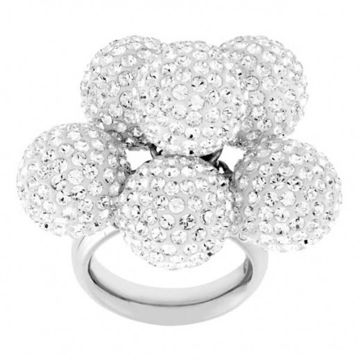 لولا & جريس – خاتم اوبلانت سباركل صغير مقاس 52 - يتم التوصيل بواسطة Beidoun
