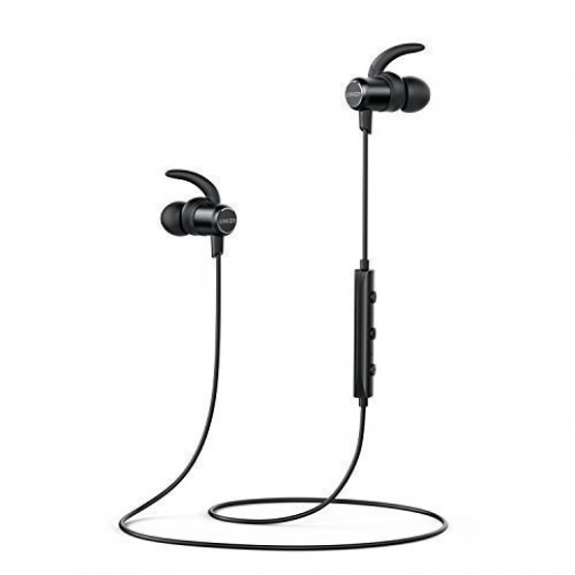 أنكر – سماعة SoundBuds مع ميكروفون - اسود