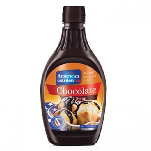 أميريكان جاردن– شراب بنكهة الشوكولاته 680 جرام