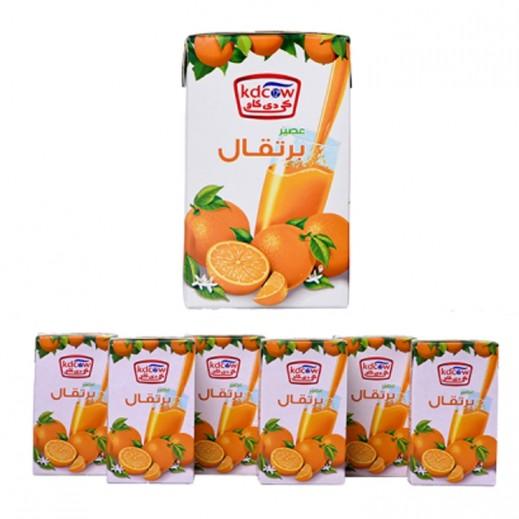 كي دي كاو - عصير نكتار البرتقال 6×250 مل