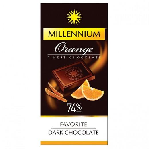 ميلينيوم - شوكولاته داكنه اكسترا ميلينيوم المفضله بالبرتقال 100 جرام