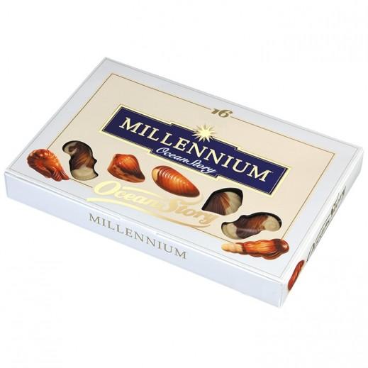 ميلينيوم - شوكولاته حلوى قصة المحيط بحشوة البرالين 170 جرام