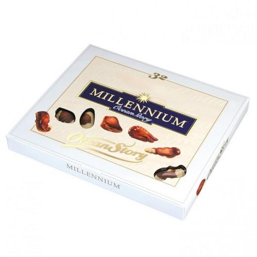 ميلينيوم - شوكولاته حلوى قصة المحيط بحشوة البرالين 340 جرام