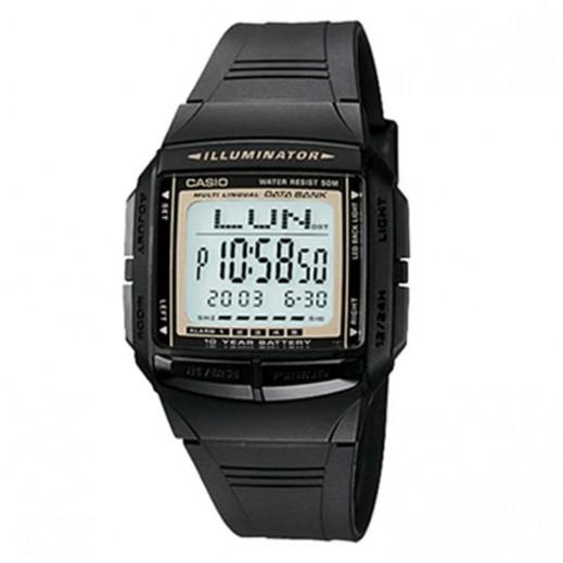 كاسيو- ساعة يد رجالي رقمية متعددة اللغات   - يتم التوصيل بواسطة Veerup General Trading