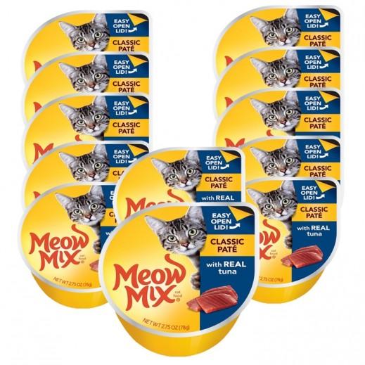 ميو ميكس – طعام القطط - وجبة تونا أصلية 12×78 جم - أسعار الجملة