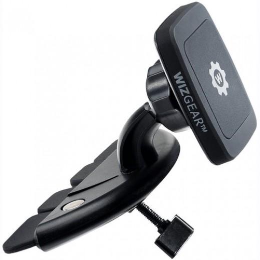 ويزجير – حامل الهواتف المغناطيسي من فتحة CD بالسيارة – أسود