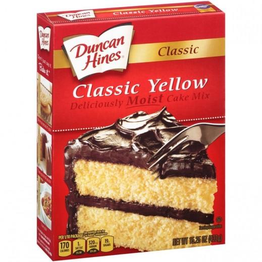 دنكان هاينز - خليط كيك كلاسيك بالزبدة أصفر 432 جم