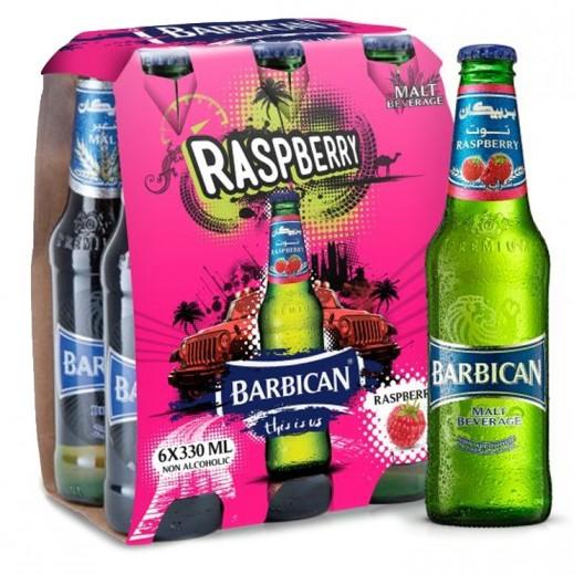 بربيكان - مشروب شعير بنكهة التوت 6 حبة × 330 مل