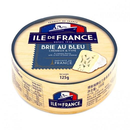 بونجرين – جبنة إيل دو فرانس طري معتق أزرق 125 جم