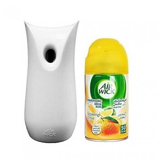 """ايرويك – جهاز بخاخ"""" إيرويك فريشماتك"""" أوتوماتيكى  +معطر هواء برائحة الليمون النعش 250 مل)"""