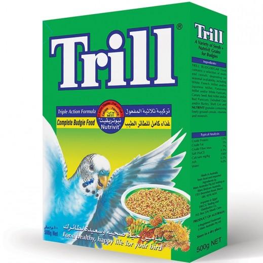 تريل - طعام بذور (منيو) لطائر البغبغاء 500 جم