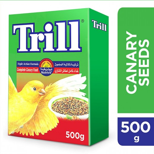 تريل - طعام بذور طائر الكناري 500 جم