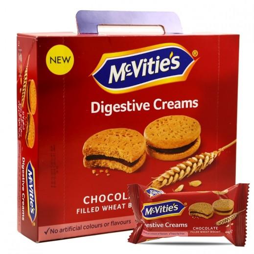 ماكفيتيز – بسكويت دايجستيف بكريمة الشوكولاتة 16 × 44 جم